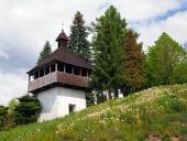 Zvonica v obci Istebné na Slovensku