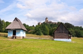 Ľudové domy a zámok v Starej Ľubovni