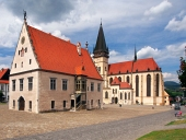 Bazilika a radnica v meste Bardejov, Slovensko