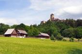 Zámok a ľudové domy v Starej Ľubovni