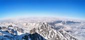 Panoramatický výhľad na Vysoké Tatry, Slovensko
