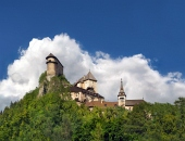 Slávny Oravský hrad