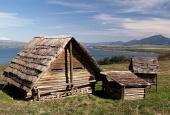 Starodávne drevené domy