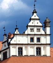 Stredoveká strecha na radnici v Levoči