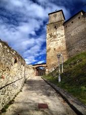 Vstup do Trenčianskeho hradu