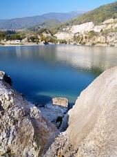 Šútovské jazero pri Kraľovanoch na Slovensku