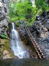 Vodopád v Kvačianskej Doline
