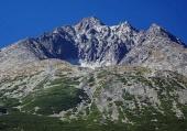 Gerlachovský štít vo Vysokých Tatrách v lete