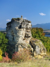 Kamenný kríž, pamiatka v blízkosti obce Bešeňová, Slovensko