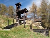Drevené opevnenie na kopci Havránok, Slovensko