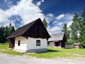 Vzácne drevenice v Pribyline