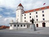 Nádvorie na Bratislavskom hrade, Slovensko