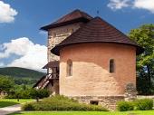 Masívna bašta hradu v Kremnici