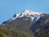 Pohorie Veľký Choč skoro na jar