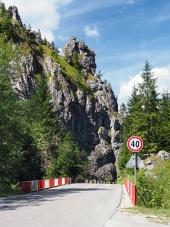 Cesta s mostom vo Vrátnej doline, Slovensko