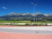 Odpočívadlo pri hlavnej ceste do Vysokých Tatier