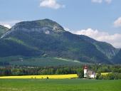 Lúka a kostol svätého Ladislava
