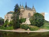 Južná strana Bojnického zámku, Slovensko