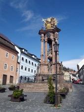 Stĺp Panny Márie a Najsvätejšej Trojice v Banskej Štiavnici