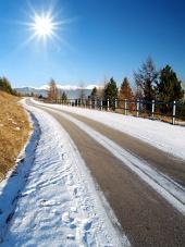 Cesta a slnko na Liptove