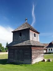 Drevená zvonica v Pribyline, Slovensko