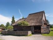 Historický drevený dom v Pribyline