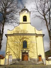 Kostol svätého Kríža v Lúčkach na Slovensku