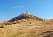 Kalvária v meste Banská Štiavnica na Slovensku