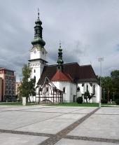 Kostol Svätej Alžbety vo Zvolene na strednom Slovensku