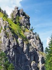 Unikátne skaly vo Vrátnej doline, Slovensko