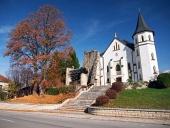 Gotický kostol v obci Mošovce, Slovensko