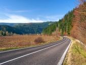 Cesta do obce Podbiel na Orave