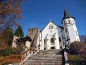 Rímsko-katolícky kostol v Mošovciach na Slovensku