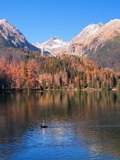 Jeseň vo Vysokých Tatrách pri Štrbskom Plese