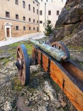 Historické delo na Bojnickom zámku