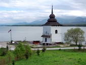 Pozostatky kostola pri Liptovskej Mare na Slovensku