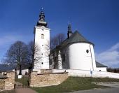 Kostol svätého Juraja v obci Bobrovec na Slovensku