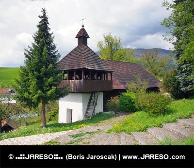 Evanjelický kostol v obci Istebné na Slovensku