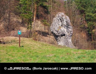 Prírodná pamiatka predstavujúca päsť Juraja Jánošíka, Slovensko