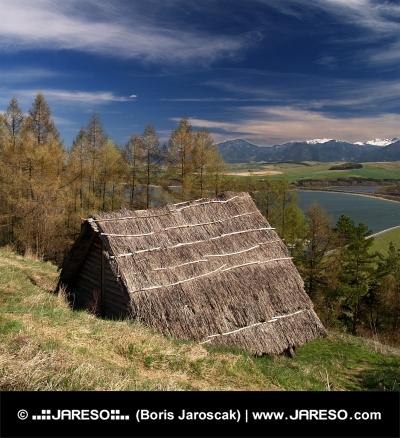 Starobylý drevený dom