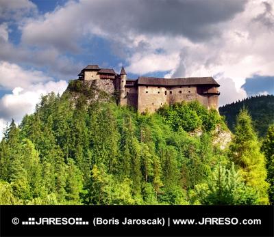 Najstaršia časť Oravského hradu