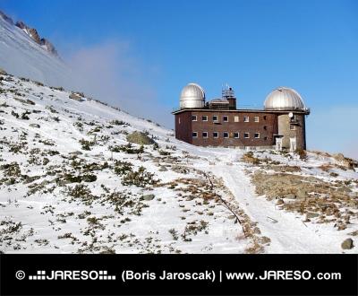 Hvezdáreň na Skalnatom Plese vo Vysokých Tatrách