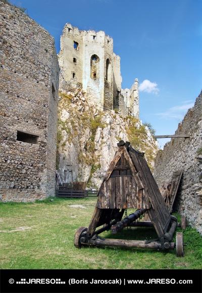 Baranidlo pod Beckovským hradom