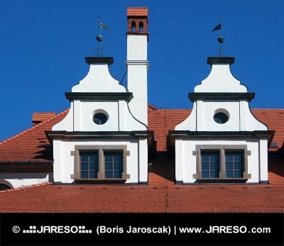 Unikátne stredoveké strechy v Levoči