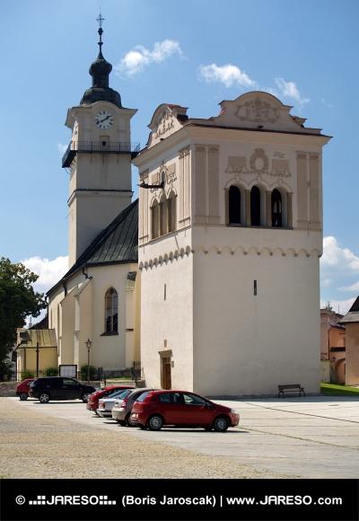 Zvonica a kostol svätého Juraja