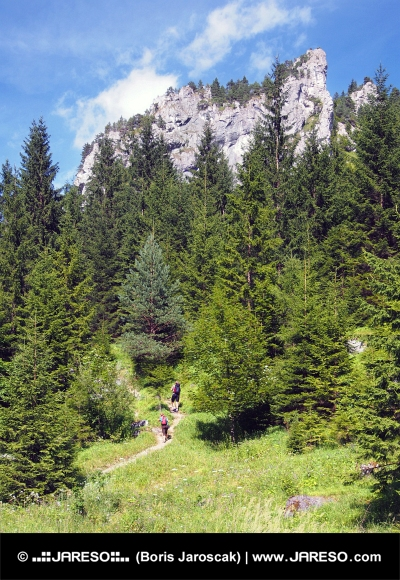 Skalné útvary vo Vrátnej doline, Slovensko