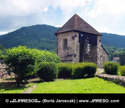 Banícka bašta na hrade Kremnica