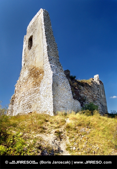 Zrúcanina Donjonu na Čachtickom hrade