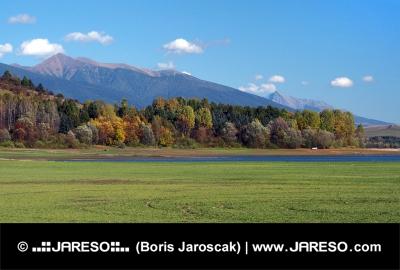 Roháče a Kriváň tak ako je ich vidieť z Bobrovníka