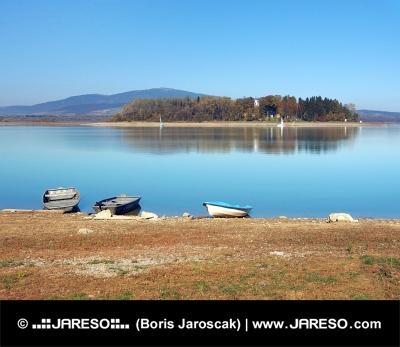 Lode a Slanický ostrov, Slovensko